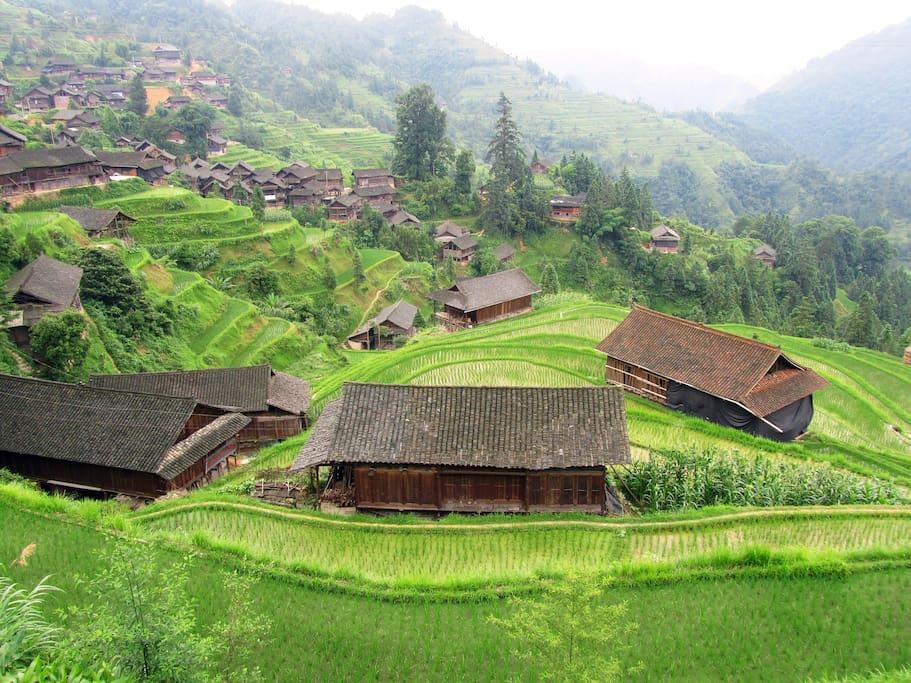 The village 寨子