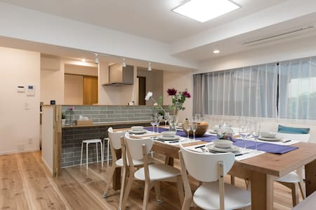 New: 3BD Spacious Modern Apartment center of Tokyo - Синагава