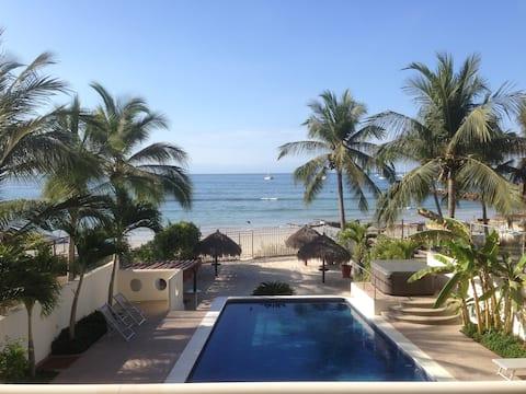 Punta de Mita Beachfront condo 2bd/2ba