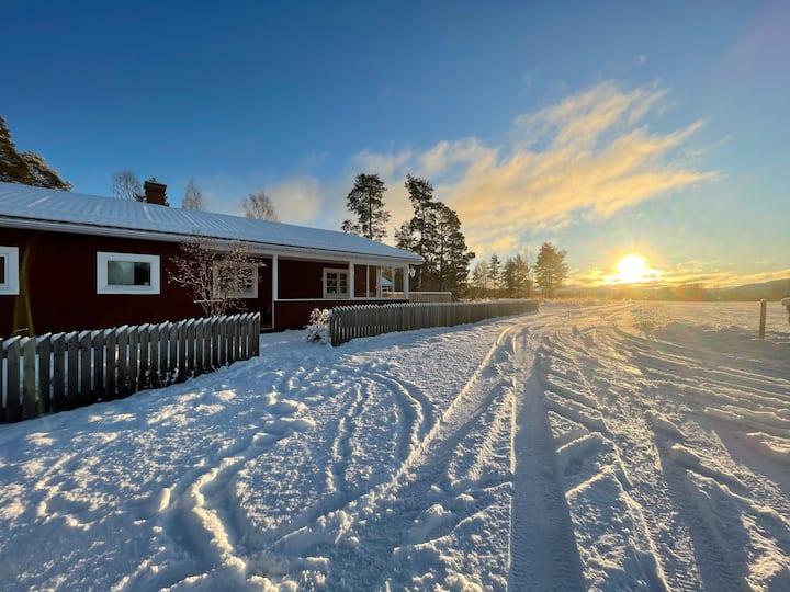Stenkast till Ljusnan, Järvsö samt Orbaden