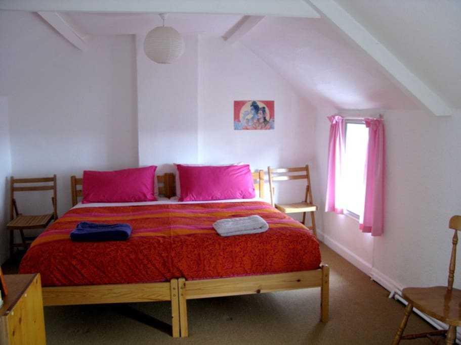 Bedroom Available As Either Single Bed, Double Bed or Twin Beds