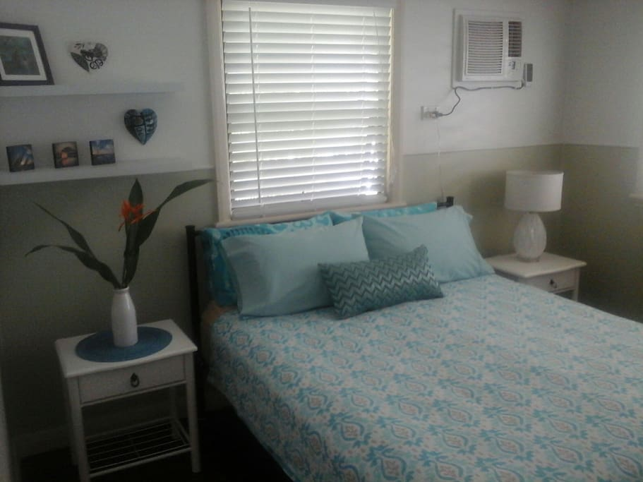 One of our three rooms available