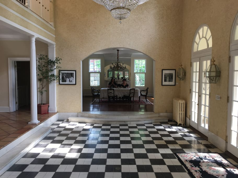 The Entry and Dining Room