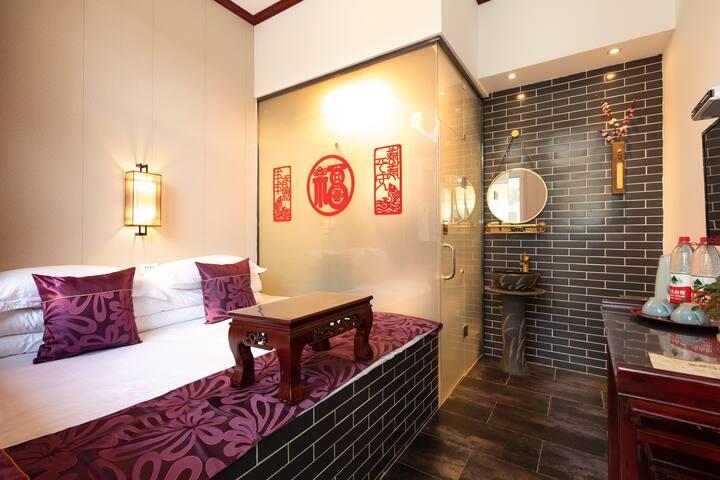 平遥古城四成公小院~民俗特色土炕
