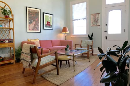 Charming, bright Treme cottage! - New Orleans - Haus