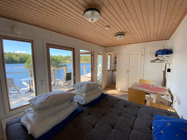 The inside of the lakehouse
