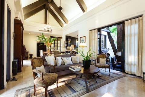 Baan Thip - Kaunis 4 vuodetta Villa Riverside