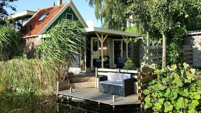 Idyllic Country House to IJsselmeer - Wervershoof - บ้าน