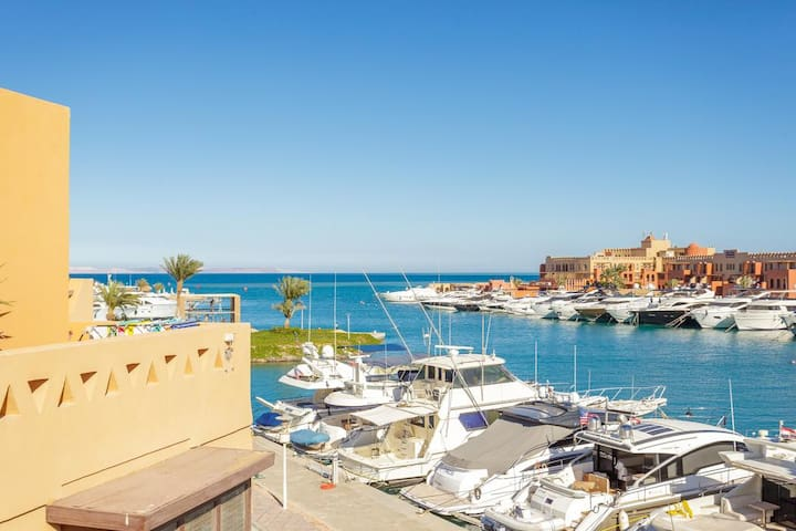 El Gouna Abu-Tig Marina (Website hidden by Airbnb) -Red Sea