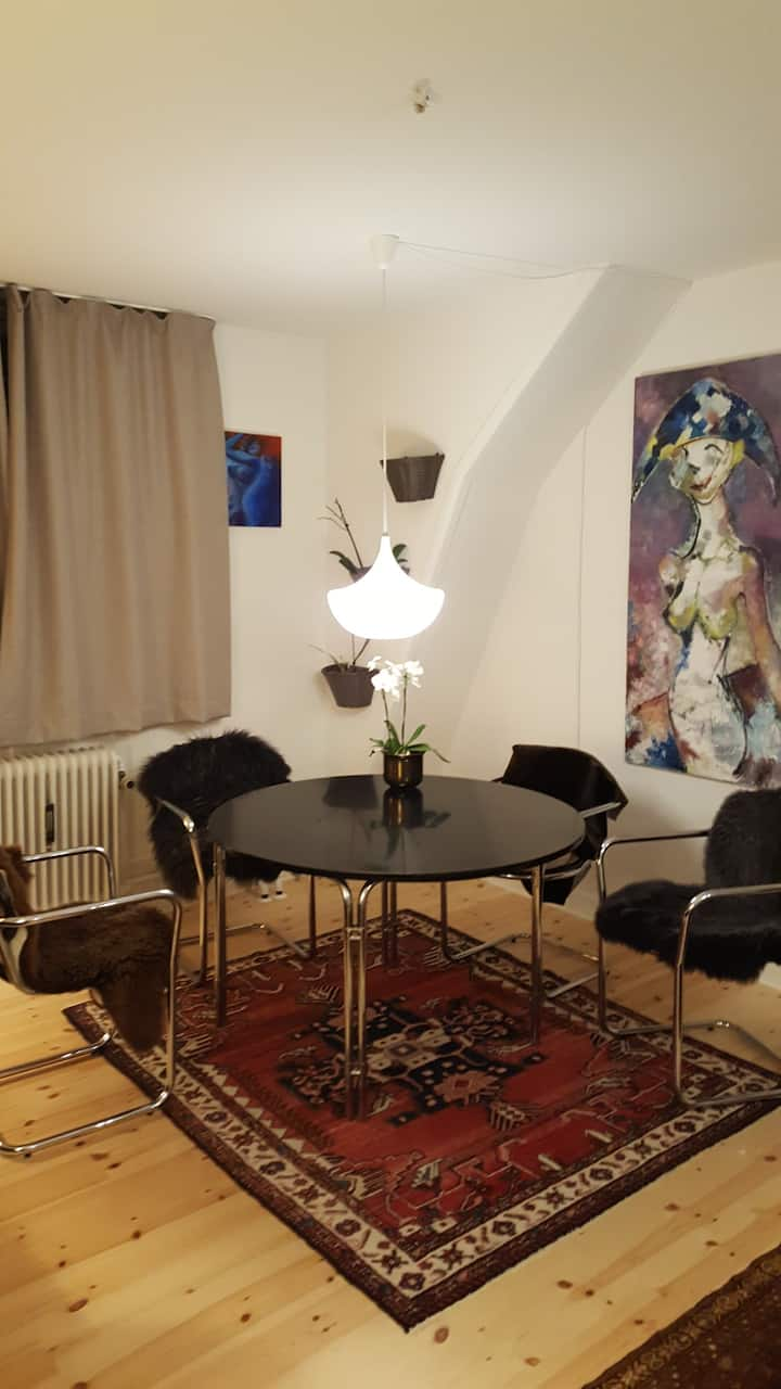 Penthouse a la Nørrebro