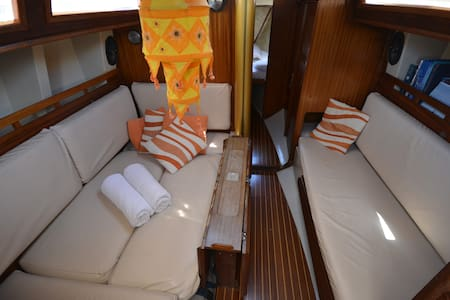 Cozy Clasic boat in center of Palma - Balearic Islands