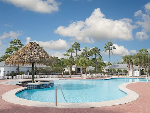 The Rookery offers your ideal beach getaway, including a beautiful shared pool.