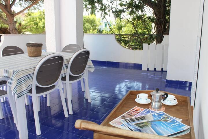 Villa con giardino a Baia Verde, Gallipoli