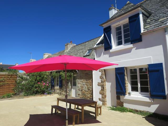 maison Bretagne proche plage et commerces - Plougasnou - Casa