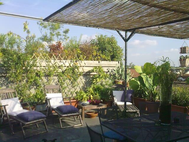 Loft con terrazzo vicino al Salone del Mobile