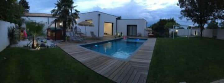 Villa avec piscine Nieul sur mer