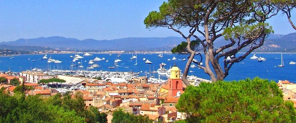 House/only FAMILY  GASSIN-ST TROPEZ DREAM / AC