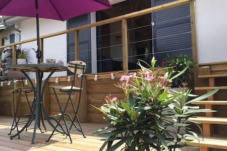 Capbreton - Maisonnette neuve 30m2 au calme tout confort - terrasse 35m2 à 5mn des plages