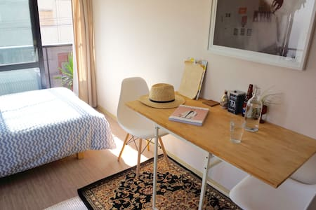 Sale-Cozy & Tidy apt near Shimokita  w/2 bikes - Shibuya-Ku - Apartment