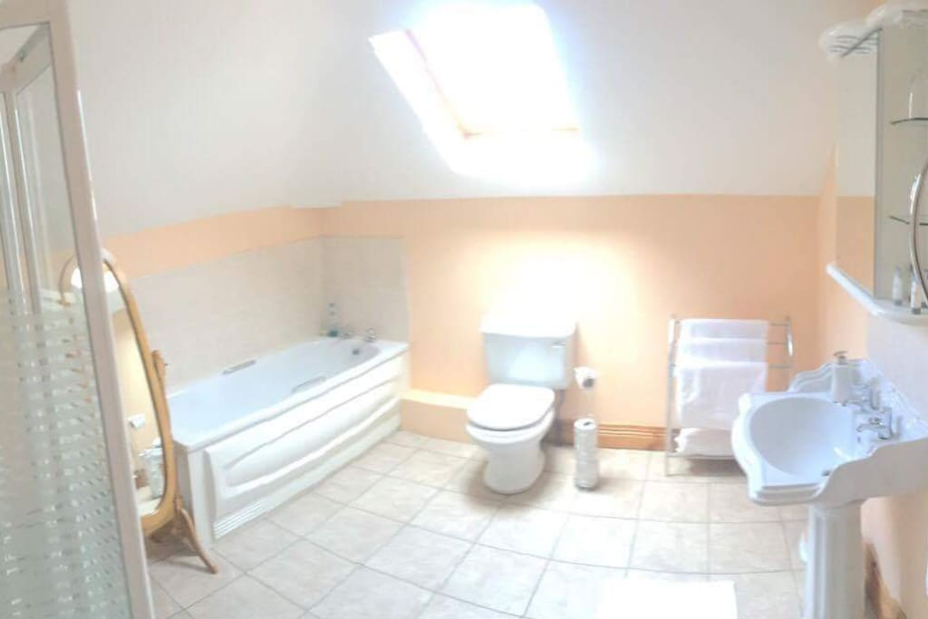 Both Large Bedrooms have Large Bathrooms