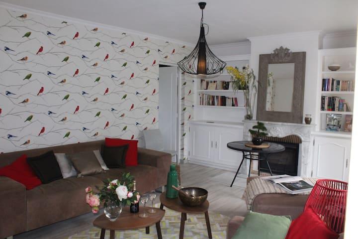 Splendide appartement dans parc privé de 5000m2