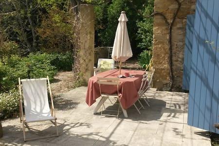 Maison + piscine, proche Avignon - Lafare - 一軒家
