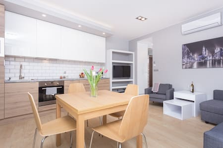 Modern and cozy apartment  for 2-6 people - AC - Krakau - Wohnung