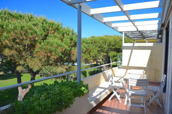 Trilocale in residence con piscina - Marina di Bibbona