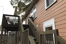 Back deck--also for shared use