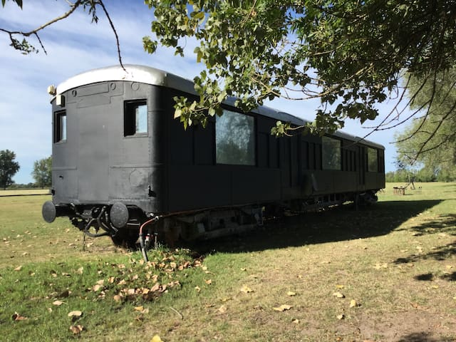 Train Car Home  /Polo club and countryside - Los Cardales