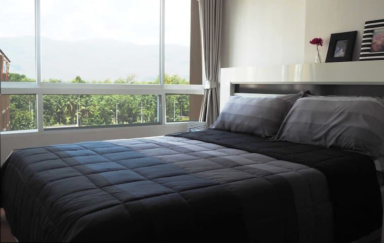 1BR with sunset mountain view 30sqm - Chiang Mai - Departamento