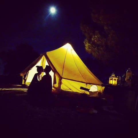 Direction South Glamping - Bell tent