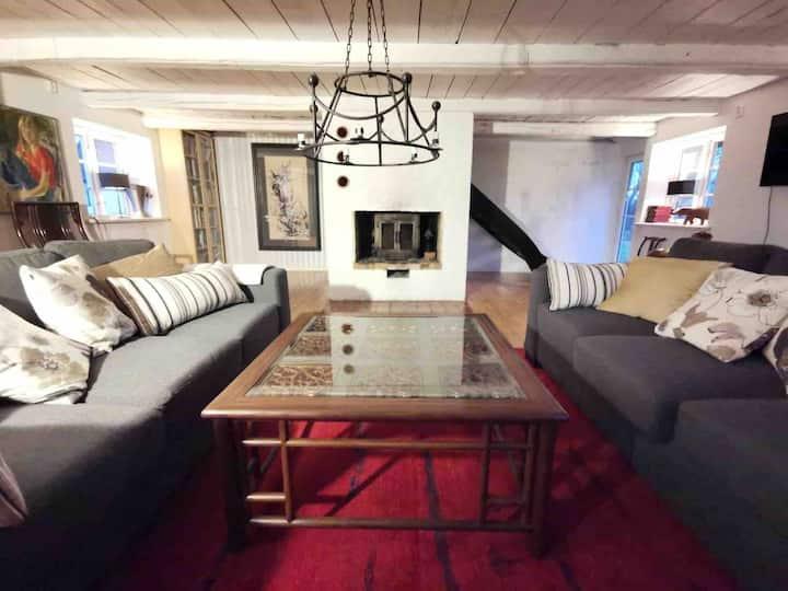Havsnära hus med traditionell charm