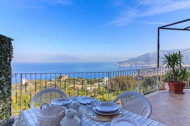 B&B Angy & Cri Camera La Verde in Villa panoramica
