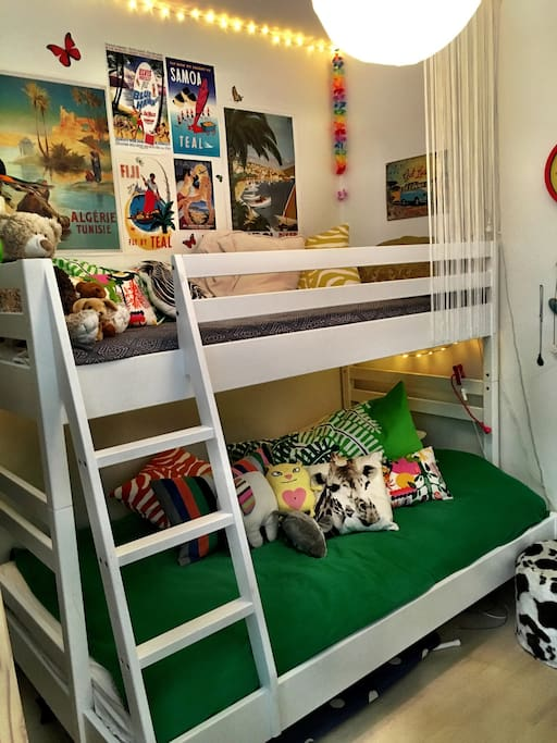 Great bunk bed for kids.