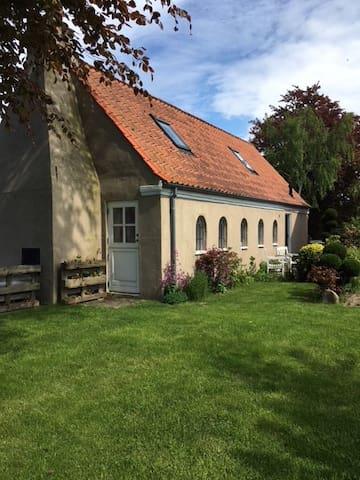 Den Gamle Smedje. The Old Smithy.  Ørbæk