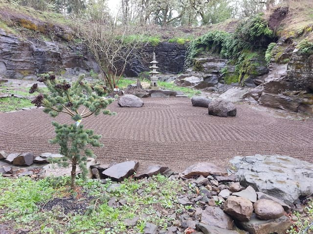 Japanese Zen Garden and Quarry