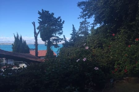 Cozy garden studio with private yard and sea view - Ardic, Çeşme