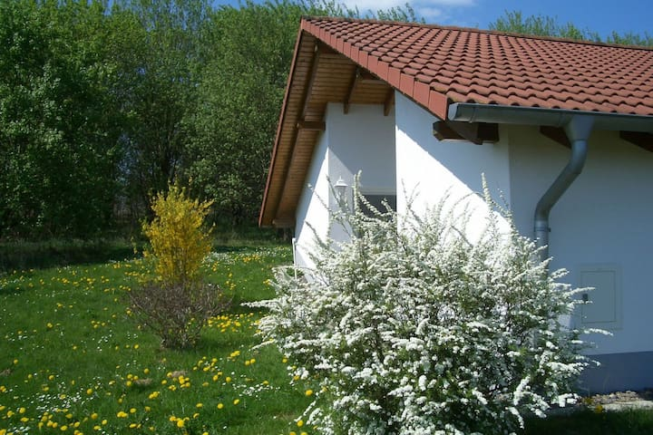 Detached bungalow,(south-facing) terrace, situated in a tranquil holiday park