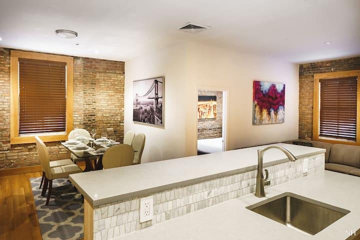Luxury Tribeca Loft 3BR/2BA Entire Floor Sleep 10 - Нью-Йорк - Квартира