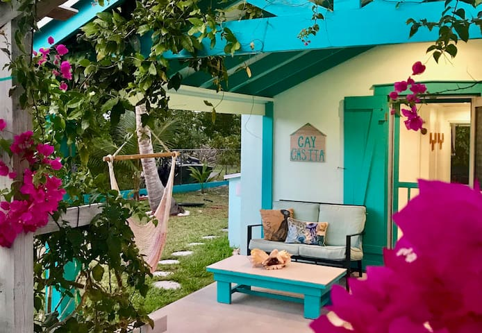 ★★★★★ Cozy Cay Casita 3 min walk to beach