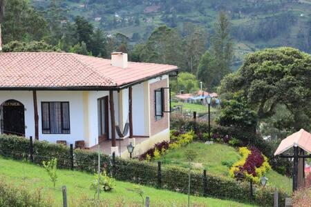 "Casa  de campo ""Villa Moreno J"" - Ramiriqui-Boy"