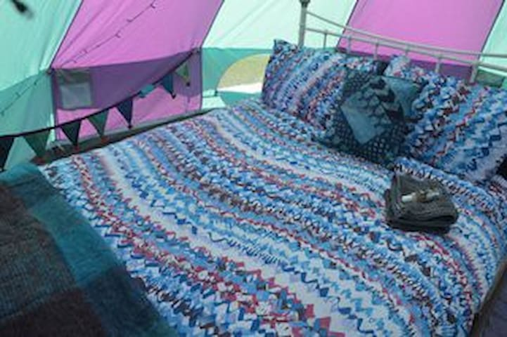 Ecocamp Glenshee Romantic Bell Tents