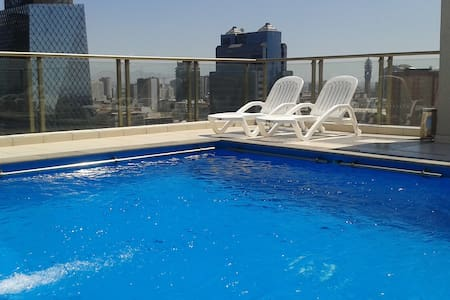 Private room+bathroom+swimming pool in the center! - Santiago