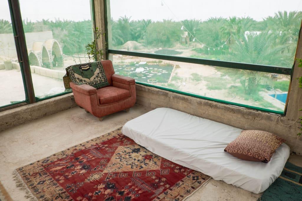 Open air sleeping