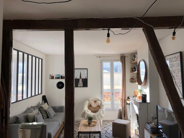 Superbe appartement à 20min de Montmartre