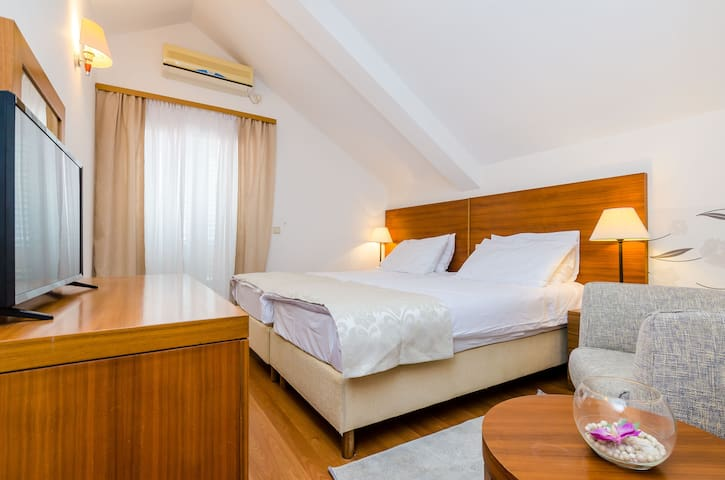 Hotel Pansion Srebreno - Double or Twin Room B&B-1