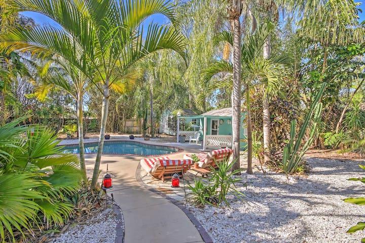 Charming Venice House w/ Private Pool & Backyard!