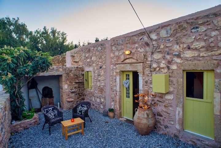 The old  Cretan cottage