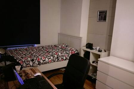spacious, cozy room with double bed - Lëtzebuerg - Appartement